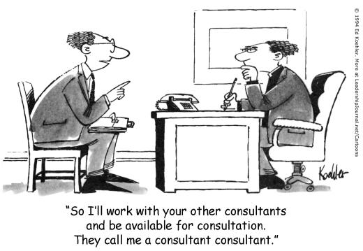 Consultant cartoon